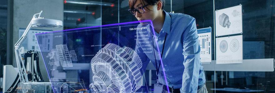 Technologies holographiques